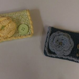 24th & Ocean Handbags - FINAL PRICE- Pair of knitted wallets / coin purses