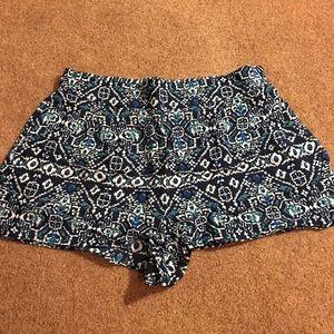 LA Hearts Fabric Shorts