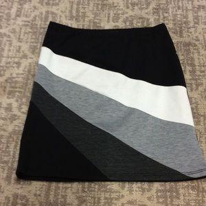 Rhapsody Dresses & Skirts - Black striped miniskirt