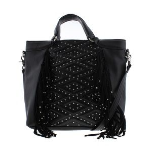 French Connection Cassidy Black Tote Handbag