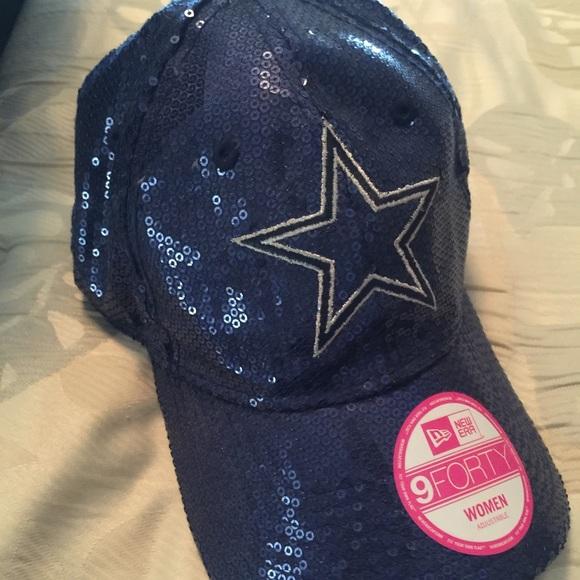 f7ffb7f65b1657 Victoria's Secret NFL Dallas Cowboys Sequin hat. M_5782524499086a5da605bb73