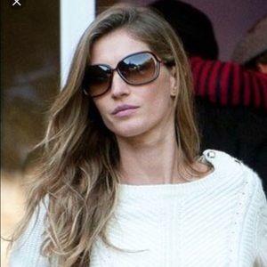 Tom Ford Raquel Square Sunglasses in Dark Brown