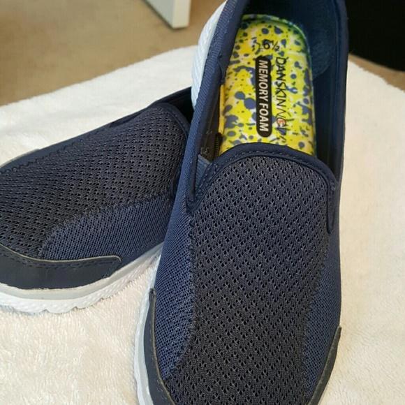 Navy Danskin Now Memory Foam Shoes