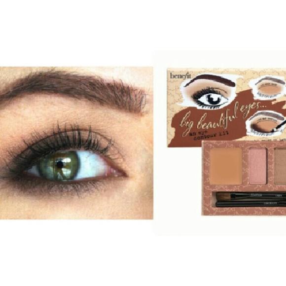 d182375fbb7 Benefit Makeup   Big Beautiful Eyes Neutral Palette   Poshmark