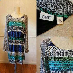 Cato Dresses & Skirts - Multi color dress