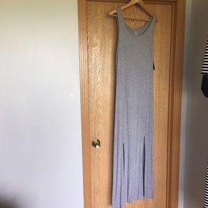 Grace Dresses & Skirts - NWT Grey Maxi Dress, Size M
