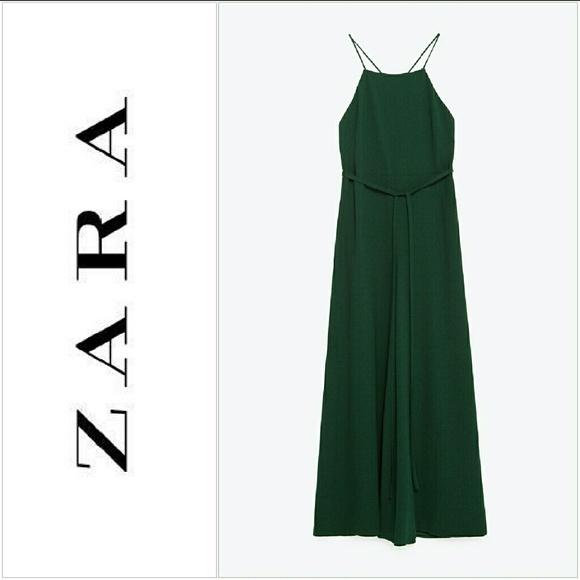 475d3cdbd2 New Stylish New Zara Wideleg Halter Neck Jumpsuit