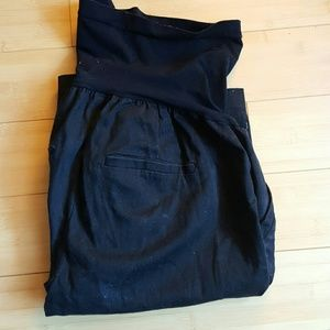 Black Maternity Shorts from Motherhood Maternity