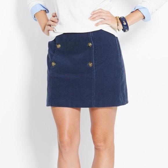 206320386 Vineyard Vines Skirts | Navy Corduroy Sailor Skirt | Poshmark