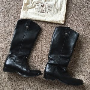 Frye boots, Melissa Button, size 9