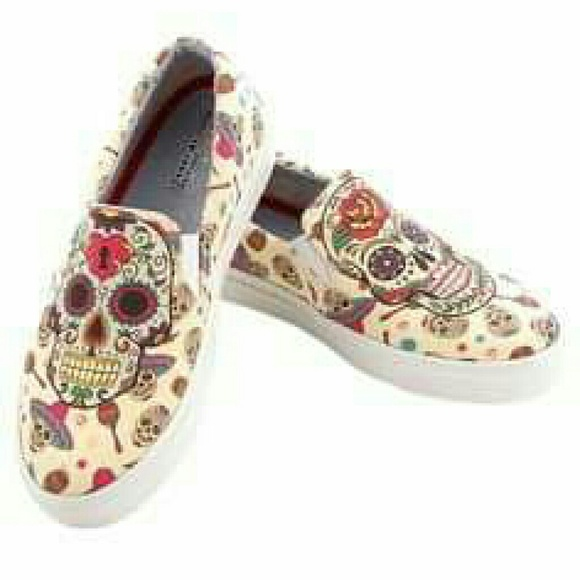 46% off Goby Shoes - Goby Sugar Skull shoes from Susan's ...