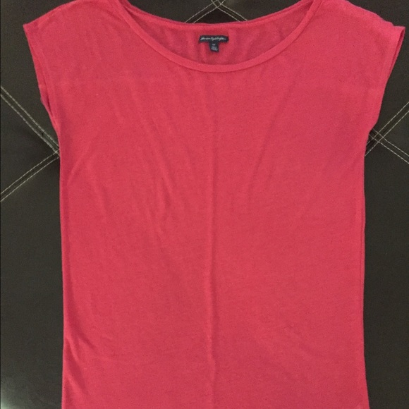 American Eagle Outfitters American Eagle Pink Shirt From