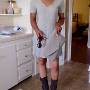 Very J Dresses & Skirts - NEW w/tag Sweater Dress by Very J in Heather Grey