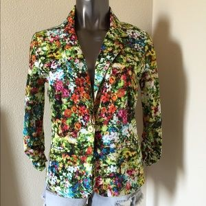 NY Collection Jackets & Blazers - NY Collection Floral Blazer