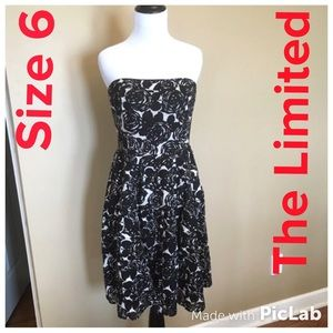 """The Limited """"Event"""" Strapless Floral Dress Size 6"""