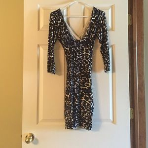 Dresses & Skirts - Guess cheetah print dress