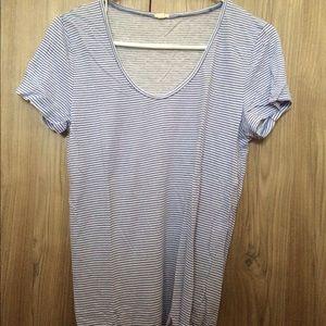 JCrew striped TShirt