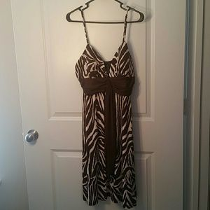 A.P.N.Y. Dresses & Skirts - Zebra print dress