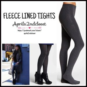 Boutique Accessories - ❗1-HOUR SALE❗FLEECE LINED TIGHTS Charcoal Grey