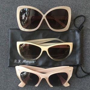 A.J. Morgan Accessories - The Nudes Sunglasses Bundle