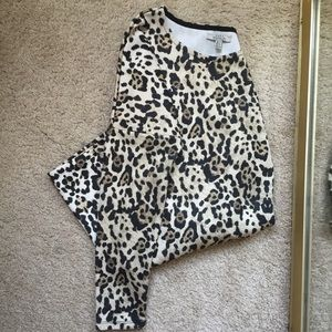 Zara tiger print dress