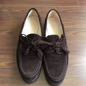 Authentic Vintage Chanel Dark Brown Loafers