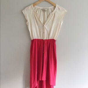 Presley Skye Colorblock Silk Dresss
