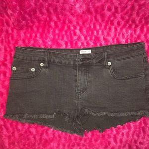 RVCA short shorts.