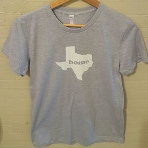 American Apparel Tops - New Gray Texas Home Tee