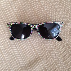 Accessories - Hand painted sunglasses.