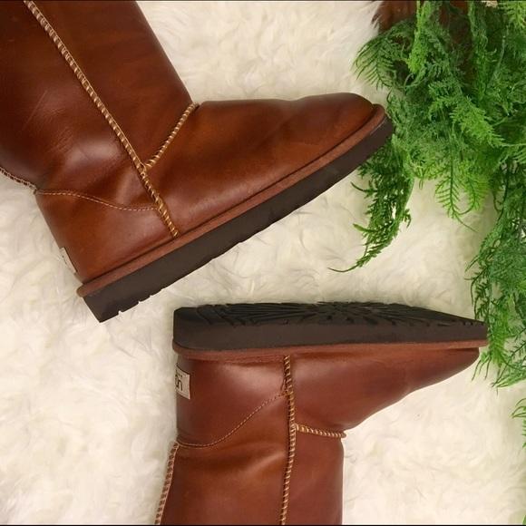 UGG Shoes   Flash Sale Short Leather