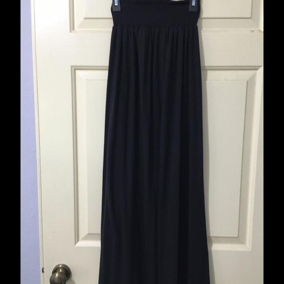6e878ff170 Kohl's Skirts   Plain Black Maxi Skirt   Poshmark