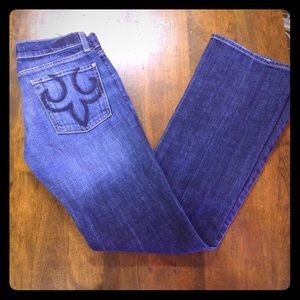 DPD Express Boot Cut Jeans