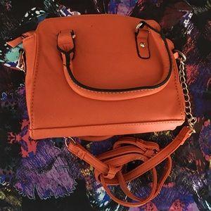 Shoes girls love  Bags - Orange Mini Tote Bag
