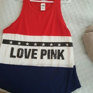 Victoria's Secret Pink  Tops - New! Victoria's Secret Pink muscle tank