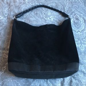 Zara Handbags - ZARA suede bucket bag