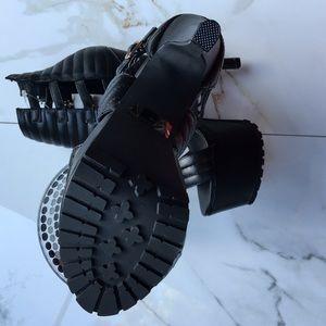 Charlotte Russe Shoes - Black High Platform Heels