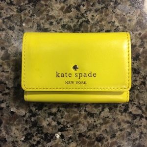 Kate Spade Leather Card Case