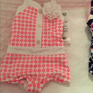 Girls Janie and Jack swim suit