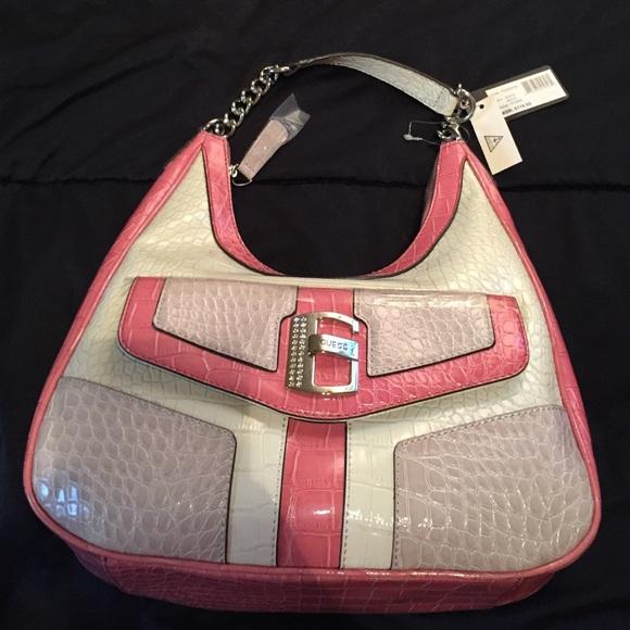 Guess Bags | Light Pink Cream Beige Purse