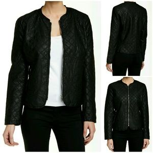 Jackets & Blazers - Jake Faux Leather Jacket