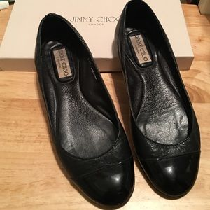 Jimmy Choo Shoes - Jimmy Choo Whirl Flats sz 37.5