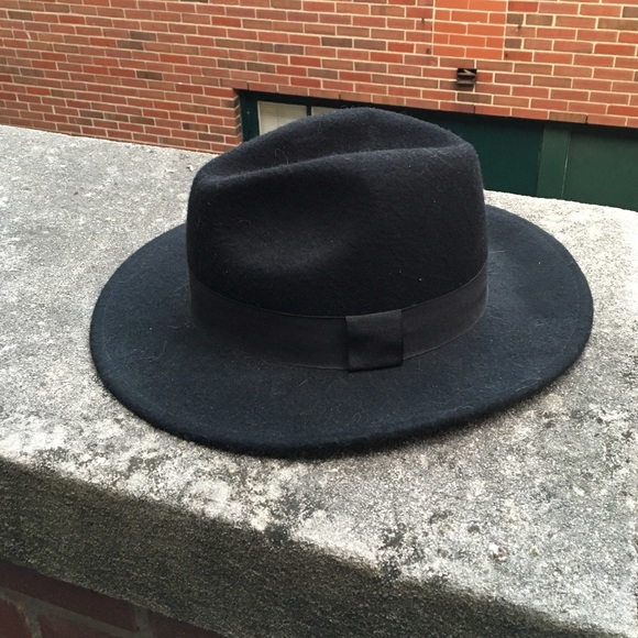 Forever 21 Accessories - wool wide-brim fedora 875fed7b2a3d