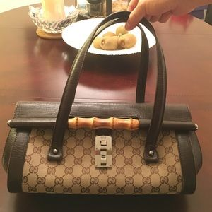 Limited Edition Gucci Bamboo Bag