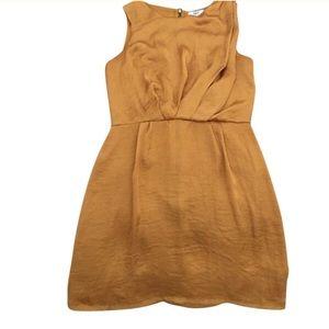 ✅ Bar III Gold Dress with zipper