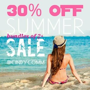 30% OFF BUNDLES OF 2 OR MORE!