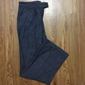 "J. Crew Wide Leg ""City Fit"" Size 2 Pants"