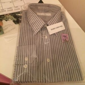 Other - Men's striped button up