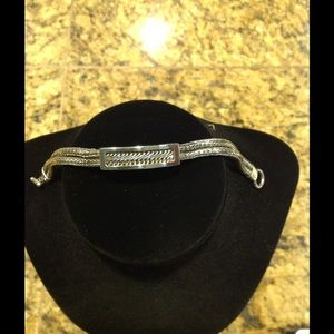 Vintage Lois Hill Sterling Silver Bracelet