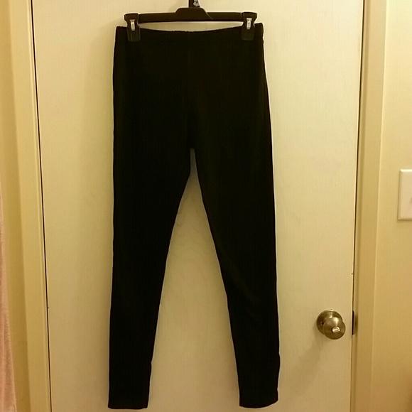 f3de3743a3600 Lara Fashion Pants | Black Denim Look Leggings | Poshmark